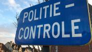 Vijf bestuurders onder invloed bij diverse controles