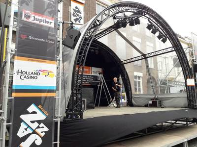 Breda Jazz Festival barst bijna los: 'Laat maar komen!'