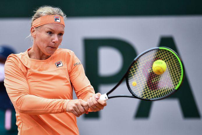 Kiki Bertens is de Nederlandse vrouw die het hoogst staat op de WTA-ranglijst (plek 9).