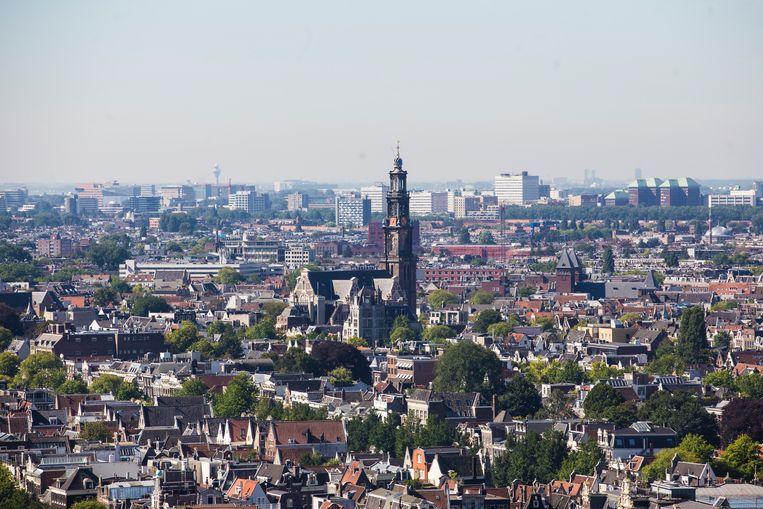 De schoonheid van de stad is de grootste bron van geluk Beeld Maarten Brante