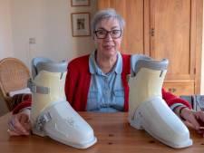 Lezers helpen lezers: Margriet Zagwijn gaat   op wintersport zonder skischoenen