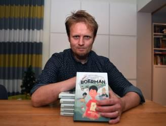 "'Boerman' is eerste kinderboek van thrillerauteur Dominique Biebau (43): ""Moord en doodslag is weer voor volgend jaar"""