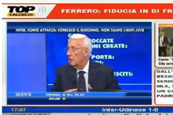 Luciano Passirani doet z'n uitleg.