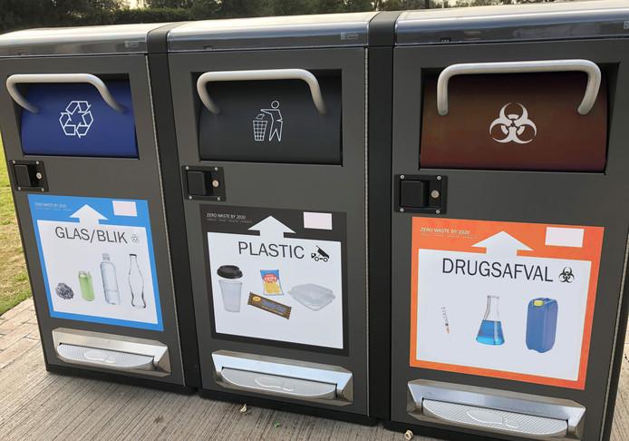 'Minder dumpingen van drugsafval, minder kosten en minder gevaar voor het milieu en de gezondheid.'