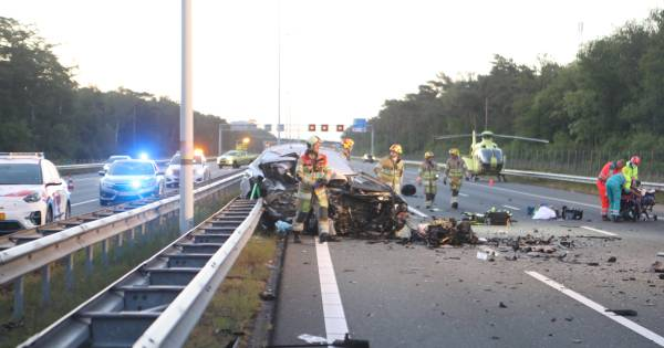 Agent en ex-marinier maakt indruk met blog over dramatisch ongeluk op A12: 'Die blik in hun ogen heb ik eerder gezien'.