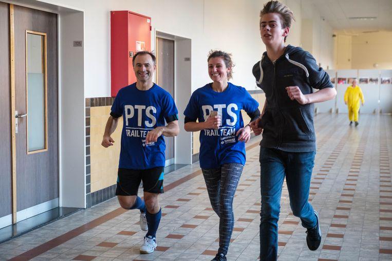 Dimitri Leue loopt mee met de PTS Trail Run.