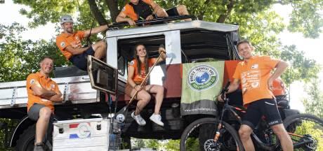 Vijftal uit Losser deed mee aan de zwaarste avonturenrace ter wereld: 'Je pusht jezelf compleet tot het uiterste'