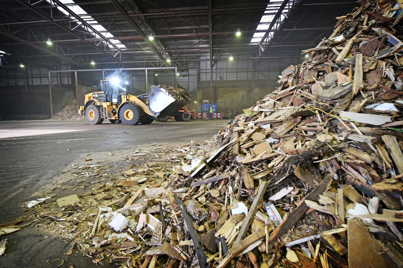 Biomassacentrale Twence in Hengelo. Foto ter illustratie.
