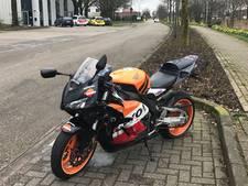 Motorrijder gewond bij ongeval in Spankeren