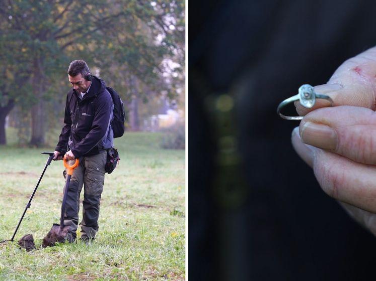 Berry doet geweldige vondst tijdens zoeken naar 80 jaar oude ring