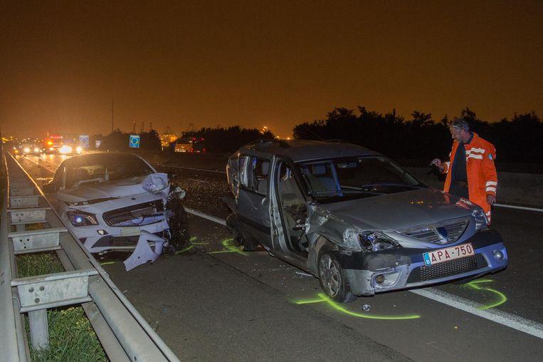Op 30 augustus 2015 reed Roy F. met zijn Mercedes in op de Dacia van Jan B. (74), die maar 47 per uur reed.