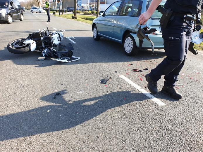 Ongeluk in Hengelo
