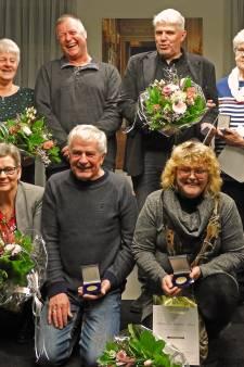 Oldebroek deelt zes erepenningen uit tijdens nieuwjaarsreceptie
