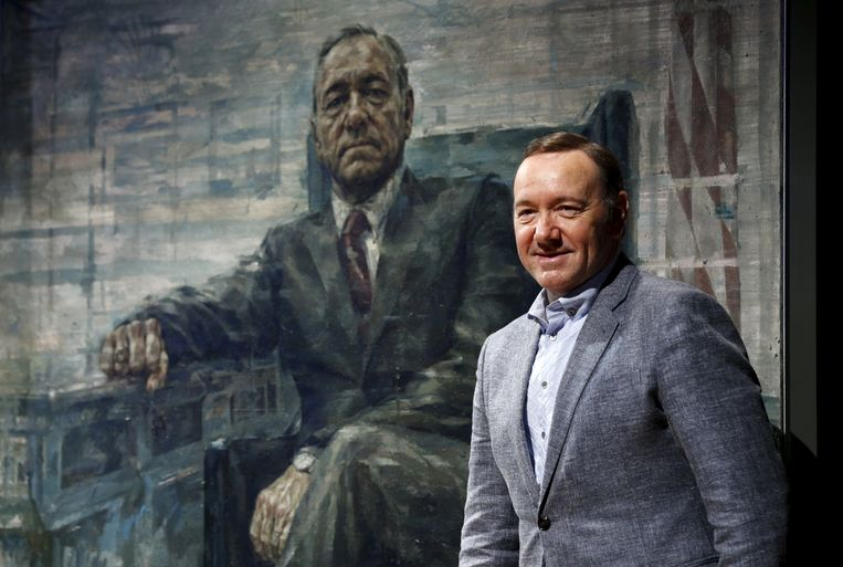 Kevin Spacey als president Frank Underwood in de serie House of Cards. Hij is opportunist en cynicus pur sang. Beeld REUTERS
