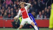 Ajax kan opnieuw rekenen op Dolberg