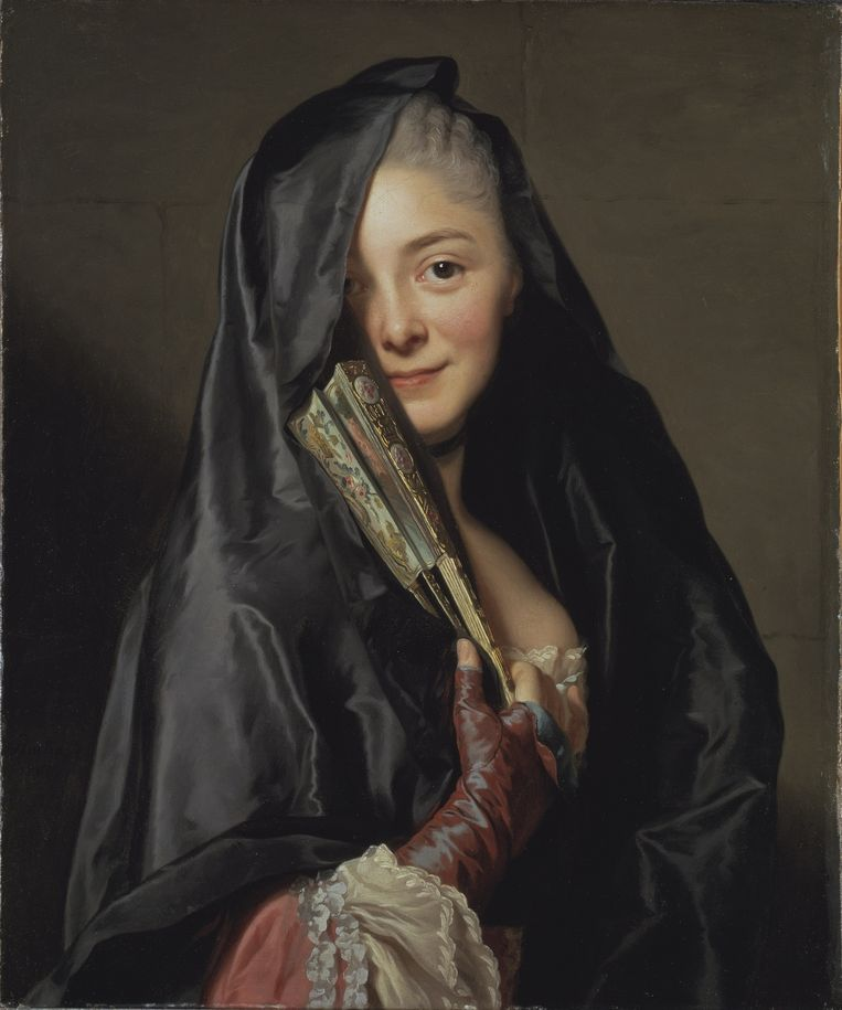 The Lady with the Veil, 1768, Alexander Roslin. Beeld Nationalmuseum Stockholm
