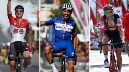 Drie weken voor het WK wielrennen: wie staat waar?
