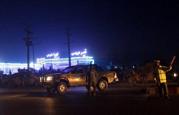 De Afghaanse veiligheidsdiensten hebben de omgeving afgezet.