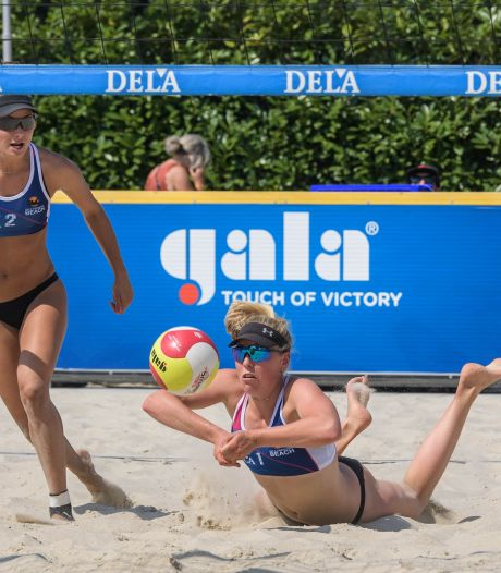 Nieuw fenomeen in beachvolleybal: 'Dit ga je ook in Almelo zien'