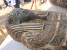 Tientallen sarcofagen opgegraven in Egypte: 'Dit is het begin van een grote ontdekking'