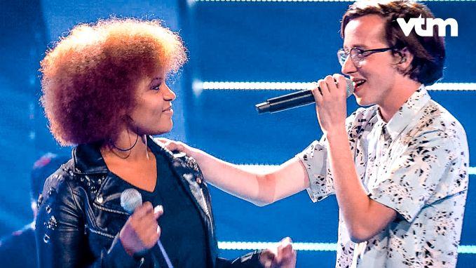 Amy en Ibe laten de coaches in 'The Voice Van Vlaanderen' sprakeloos achter met deze mooie cover!