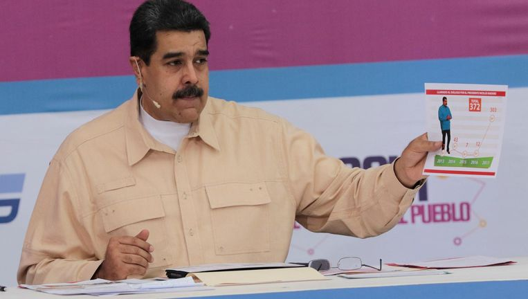 President Maduro Beeld reuters