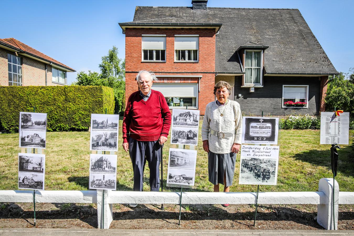 Brugge 75 jaar na het bombardement te St Michiels