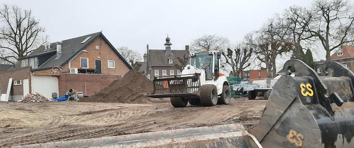 Bouwrijp maken van terrein Brouwplaats Nistelrode.