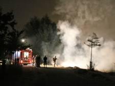 Opnieuw flinke buitenbrand in natuurgebied Wateringen