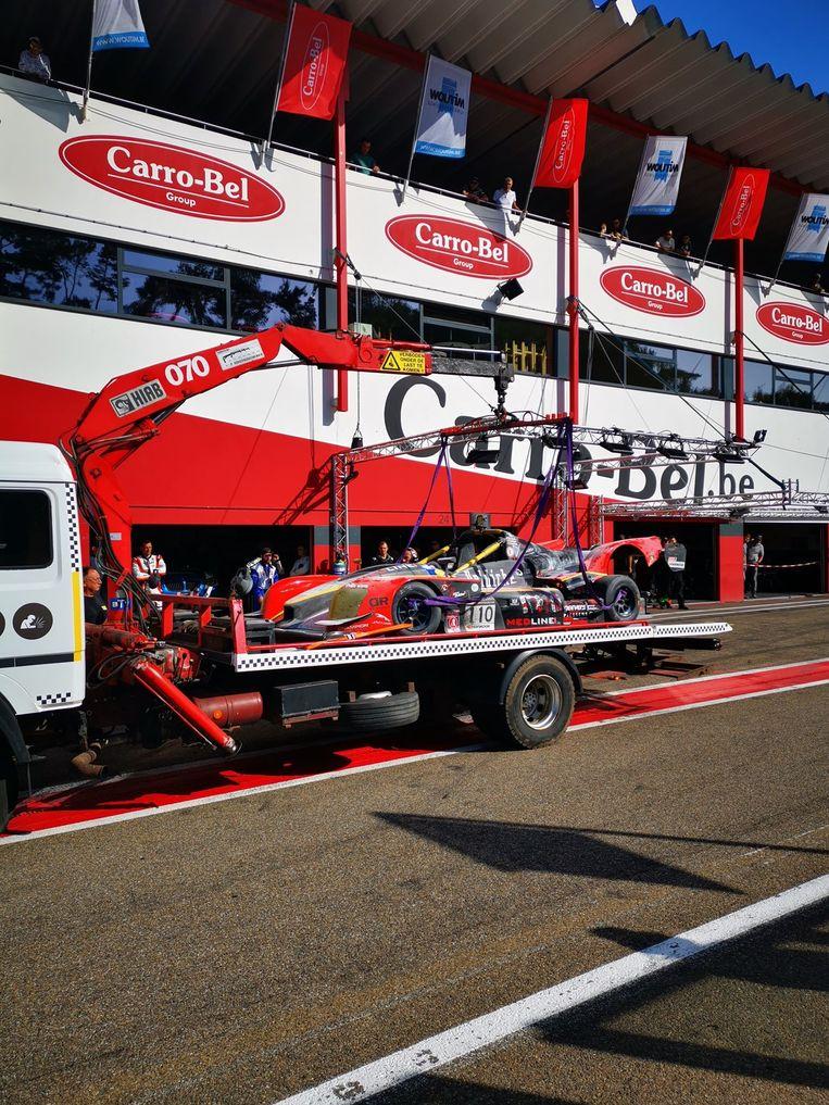 De auto van Boonen