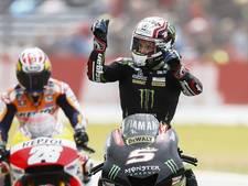Zarco verrast en pakt poleposition in MotoGP