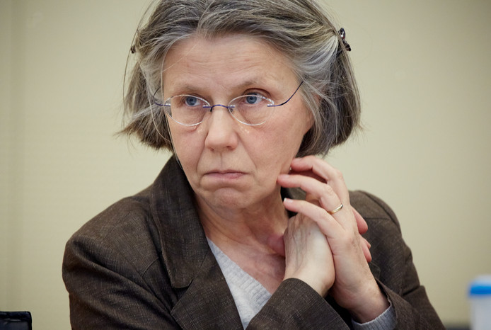 Annemie Knibbe van het Vrouwenplatform Kerkelijk Misbruik.