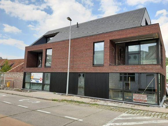 De site Douviehuis krijgt na een grondige renovatie stilaan vorm.