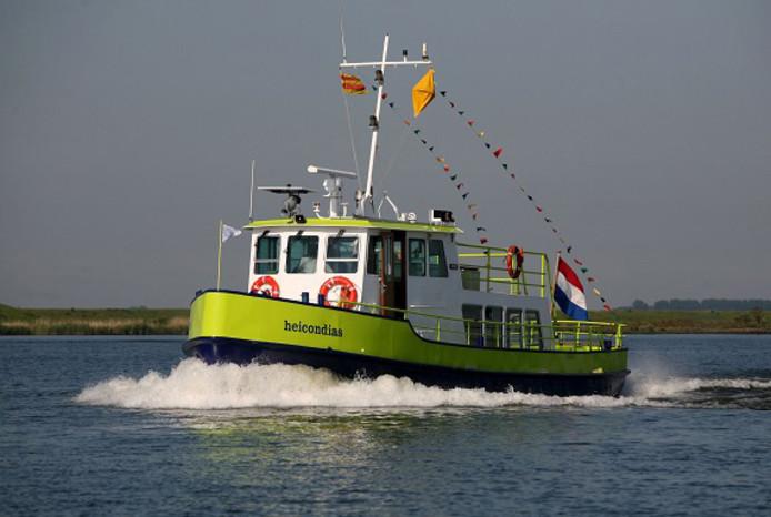 De Heicondias wordt ingezet voor de boottocht Expeditie Haringvliet.