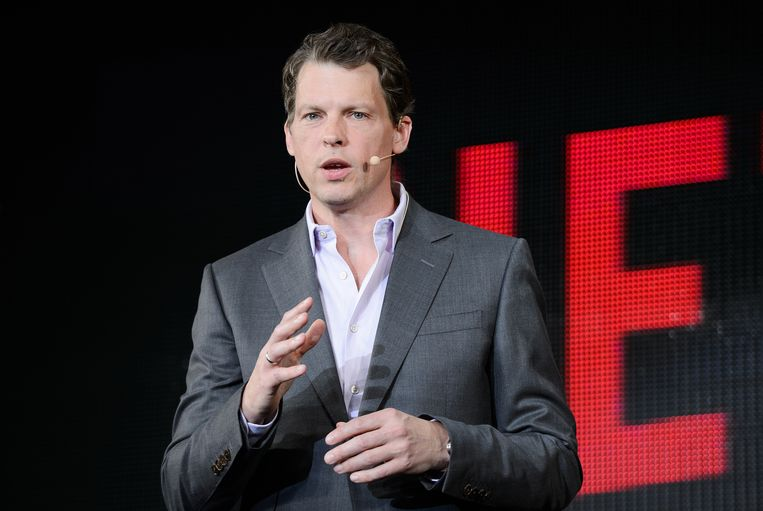 Greg Peters,  chief product officer bij Netflix. Beeld Bloomberg via Getty Images