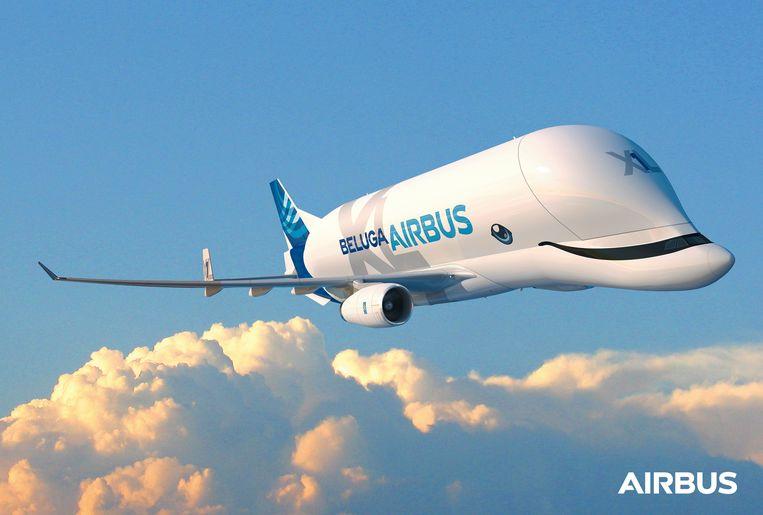 Het lachende vliegtuig