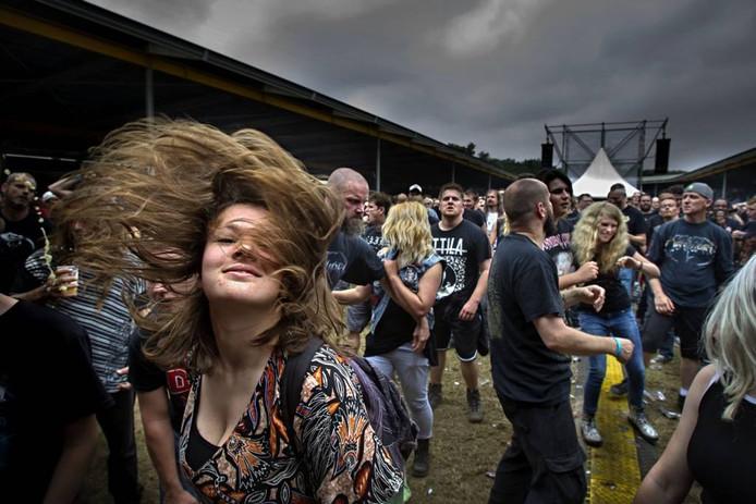 Publiek op Dynamo Metal Fest. Foto René Manders/fotomeulenhof
