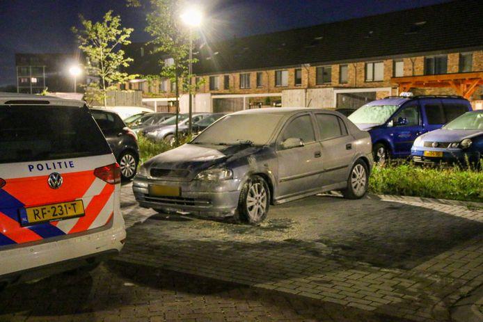 Autobrand nummer negen in Epe: wederom aan de Glazenmaker.