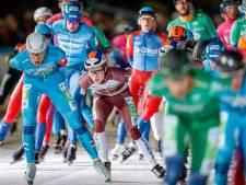 Marathonschaatser Ronald Haasjes is nu ook een 'grote meneer' in het peloton