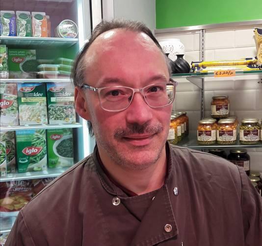 Marc Vanroy, slager en schrijver uit Putte (B).