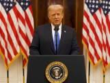 Donald Trump neemt afscheid als president