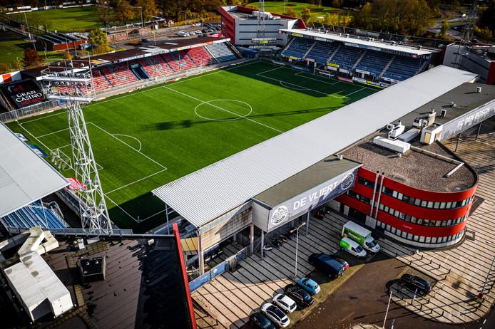 DEN BOSCH - Stadion De Vliert van FC Den Bosch.