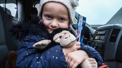 Een week goed nieuws: Juliette (4) heeft haar geliefde knuffelaap terug en andere verhalen die je blij maken