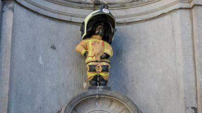 Ook brandweerman(neken) Pis herdenkt aanslagen