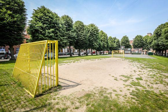 Brugge het werfplein wordt aangepakt