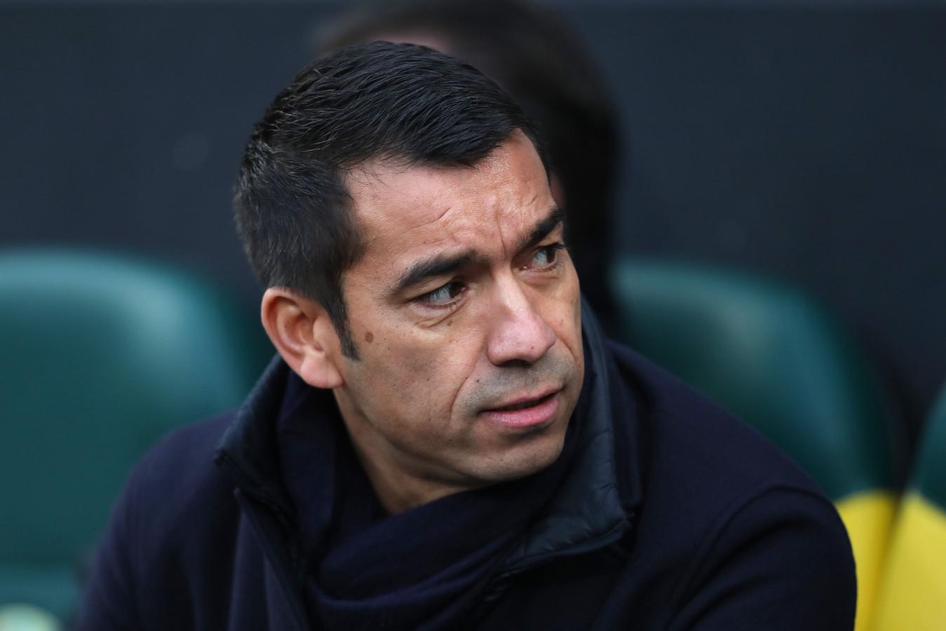 Trainer Giovanni van Bronckhorst