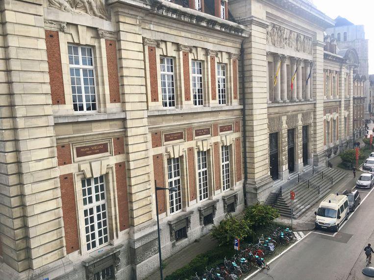 Het gerechtsgebouw in Leuven.