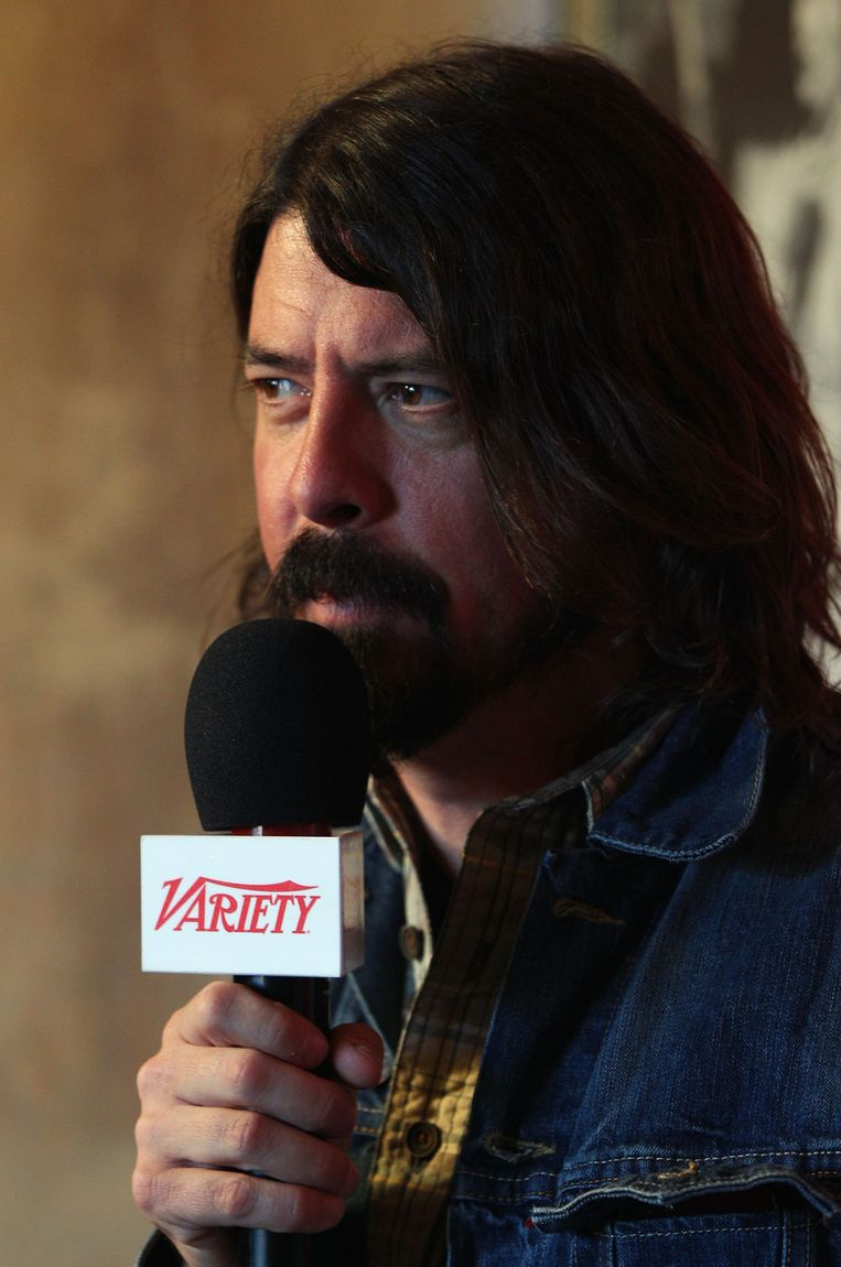 Dave Grohl. Beeld null
