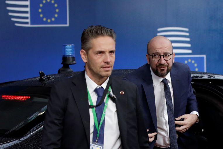 Michel op de Europese top in Brussel vorige week.