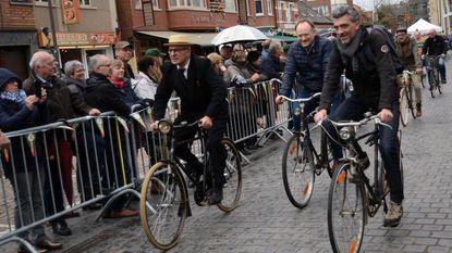 Bristol-fietsen herleven tijdens parade